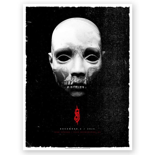 Slipknot East Rutherford Event Poster
