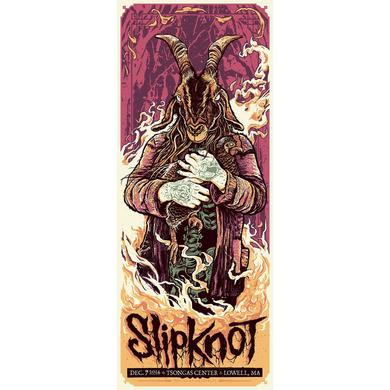 Slipknot Lowell Event Poster