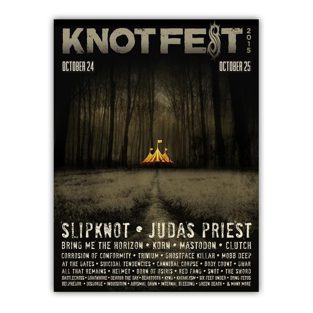Slipknot 2015 ADMAT POSTER