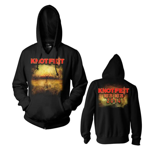 Slipknot Knotfest Tent Pullover Hoodie