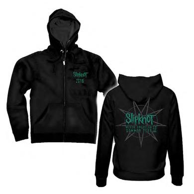 Slipknot North American Tour 2016 Zip Hoodie