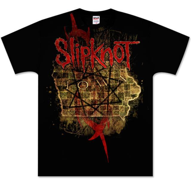 Slipknot Iowa Map T-Shirt