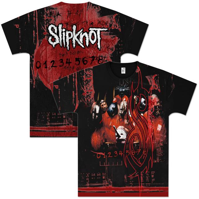 Slipknot Debut Band Allover T-Shirt