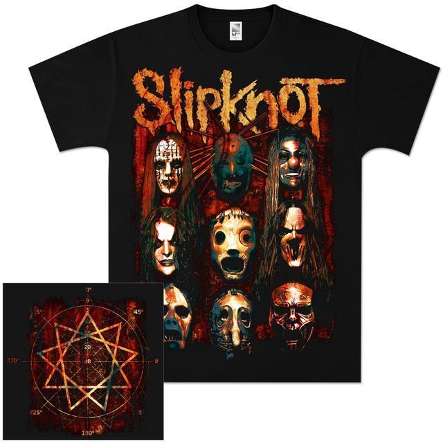 Slipknot Verdigris Group T-Shirt