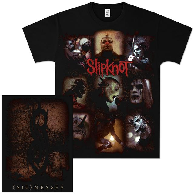 Slipknot (Sic)nesses Collage T-Shirt