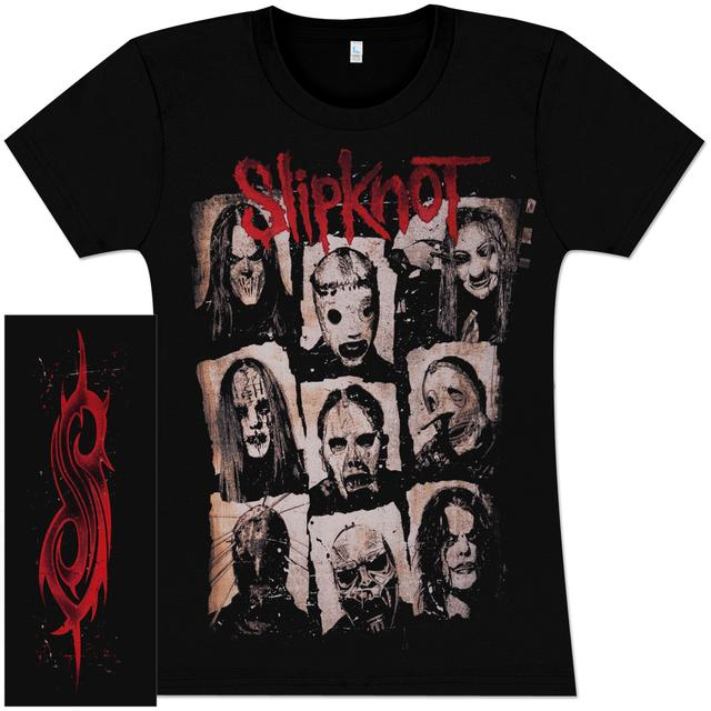 Slipknot Xerox Girlie T-Shirt