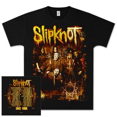Slipknot Sepia Photo Tour T-Shirt