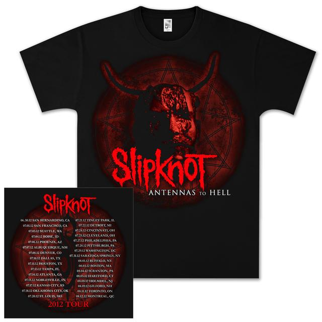 Slipknot Antennas From Hell Dateback Tour T-Shirt