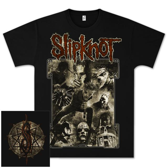Slipknot Sepia Live T-Shirt