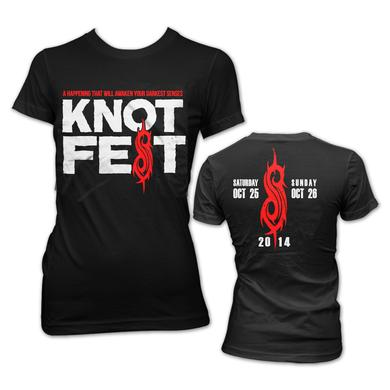 Slipknot Knotfest Logo Junior T-Shirt