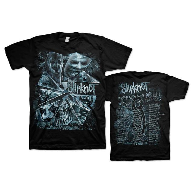 Slipknot Broken Glass Tour T-Shirt