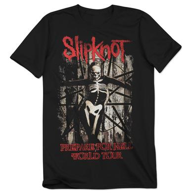 Slipknot Prepare For Hell Skeleton Tour T-Shirt