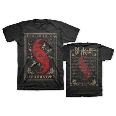Slipknot TAROT CARD WORLD TOUR TEE