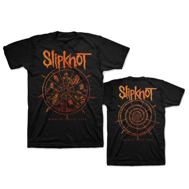 Slipknot THE WHEEL WORLD TOUR TEE