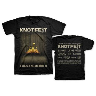 Slipknot 2015 ADMAT BLACK TEE