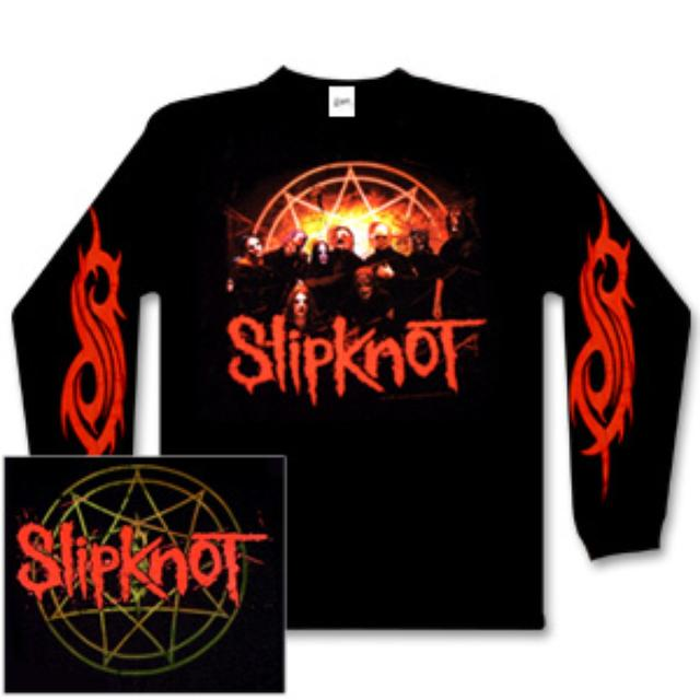 Slipknot Group One Longsleeve T-Shirt