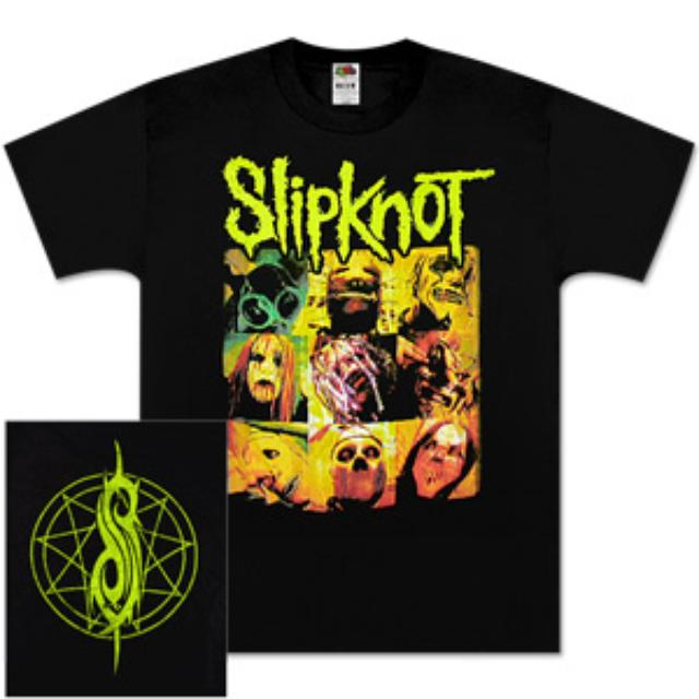Slipknot Group Square T-Shirt