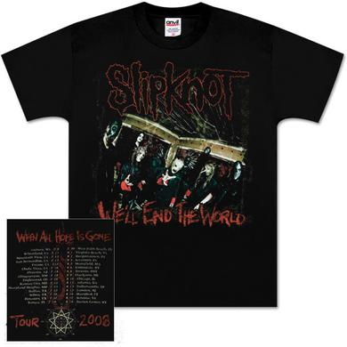 Slipknot All Hope Is Gone Tour T-Shirt