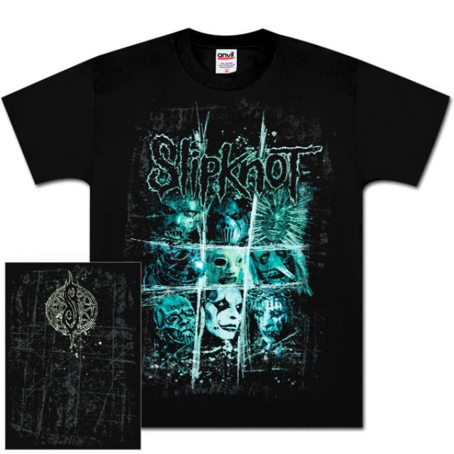 Slipknot Scratch Squares Tour T-Shirt