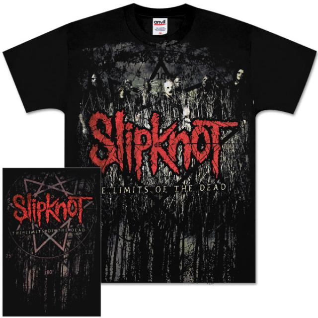 Slipknot Tall Grass Group Tour T-Shirt