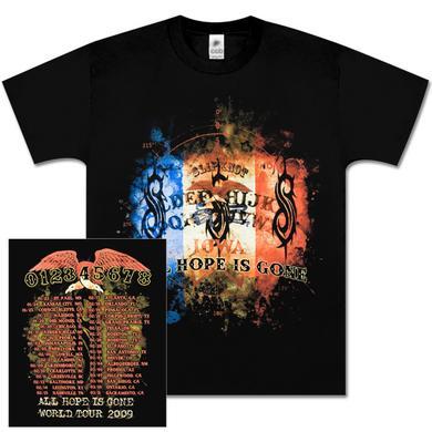 Slipknot Tricolor Flag Tour T-Shirt