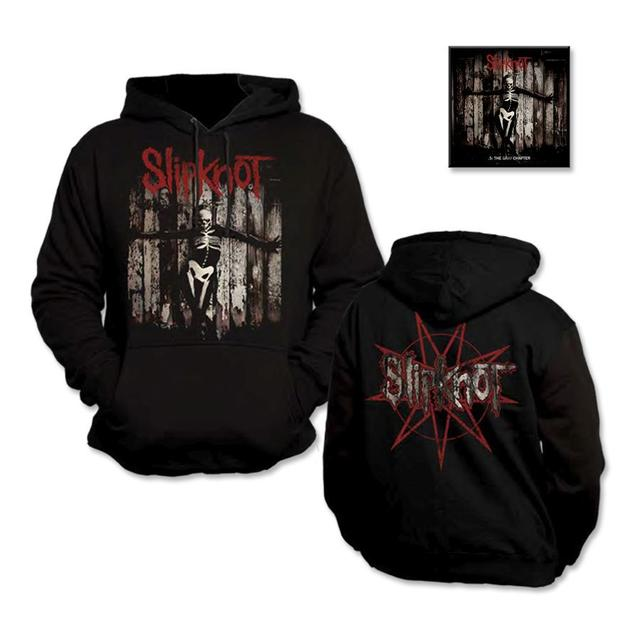 Slipknot .5: The Gray Chapter Hoodie/Music Bundle