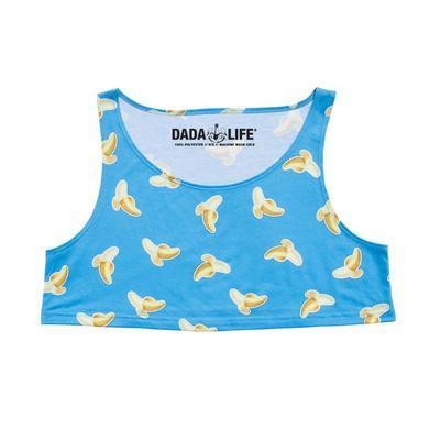 Dada Life Banana Emoji Crop Top