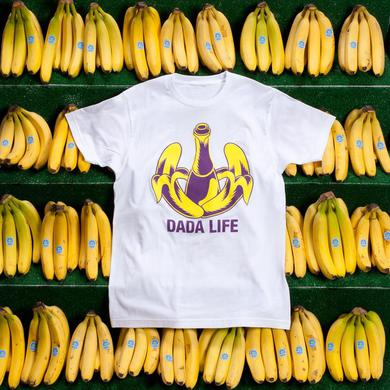 Dada Life Logo Tee (White - Purple/Yellow)