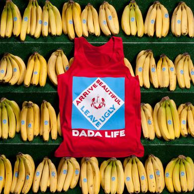 Dada Life Arrive Beautiful Leave Ugly Tank - Red
