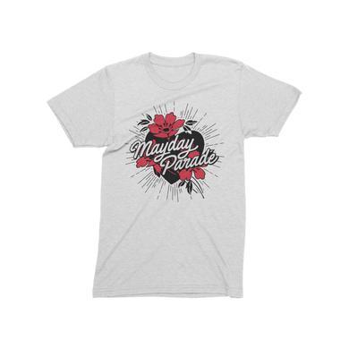 Mayday Parade Sunnyland White T-Shirt