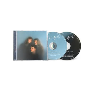 """OUR GIRL Signed Deluxe 2CD Includes Bonus """"Bedroom Record"""" Deluxe CD"""