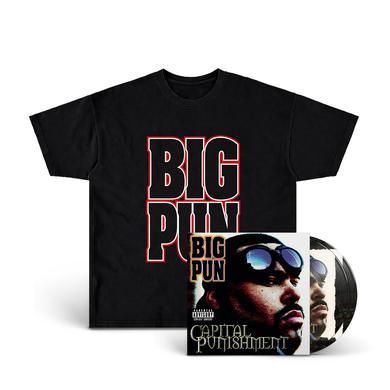 Limited Edition Big Pun T-Shirt + Picture Disc 2-LP
