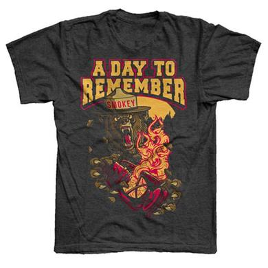 A Day To Remember Dark Heather Smokey T-Shirt