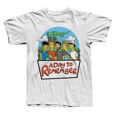 A Day To Remember White SPRINGFIELD T-Shirt