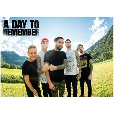 A Day To Remember Green Fields A2 Poster