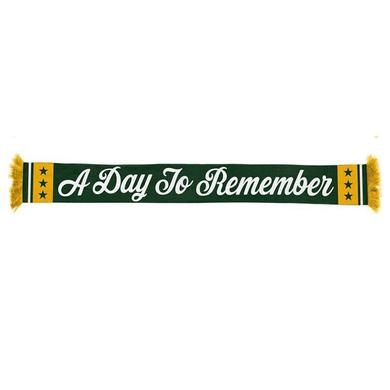 A Day To Remember Green ADTR Scarf