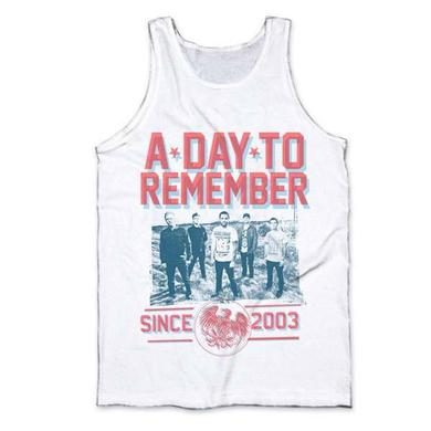 A Day To Remember White 3D Band Photo Vest
