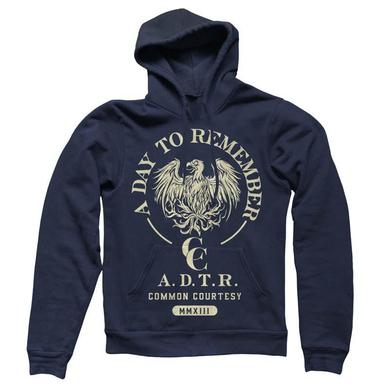 A Day To Remember Navy Common Courtesy Hoodie