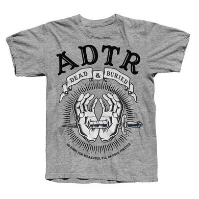 A Day To Remember Grey D&B Hands T-SHIRT (ONLINE EXCLUSIVE)