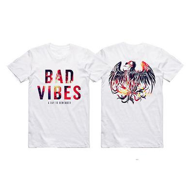 A Day To Remember WHITE BAD VIBES TEE