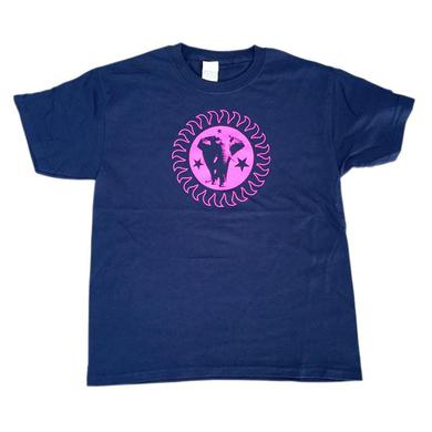 The Brand New Heavies Kids Navy Pink Logo T-Shirt