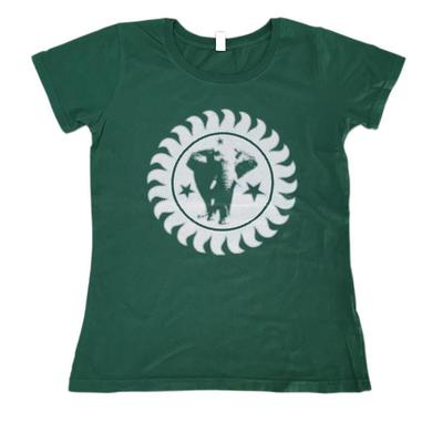 The Brand New Heavies Green Girls Logo T-Shirt