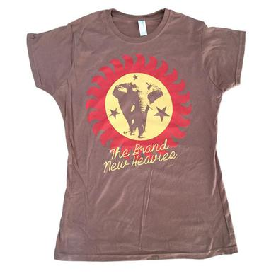 The Brand New Heavies Girls Brown T-Shirt