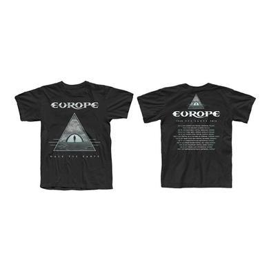 Europe Black 2018 Summer Tour T-Shirt