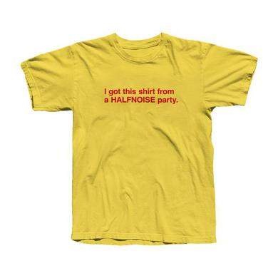 Halfnoise Yellow Party T-Shirt