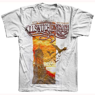 Killswitch Engage White Banner T-Shirt