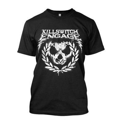 Killswitch Engage SPRAY PAINT WREATH TOUR TEE BLACK