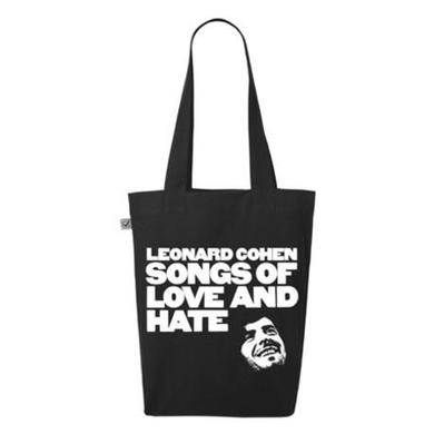 Leonard Cohen Songs Of Love And Hate Tote Bag