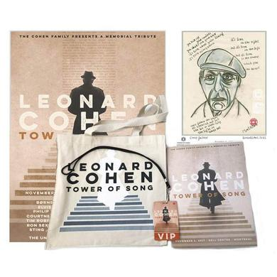 Leonard Cohen WELCOME TO MONTREAL VIP EVENT PACKAGE