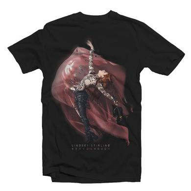 Lindsey Stirling ALBUM COVER LADIES TEE BLACK